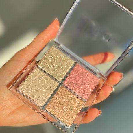 Dior  palette glow face Диор палетка хайлайтер!
