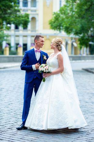 Продам свадебное платье ЦВЕТ Айвори