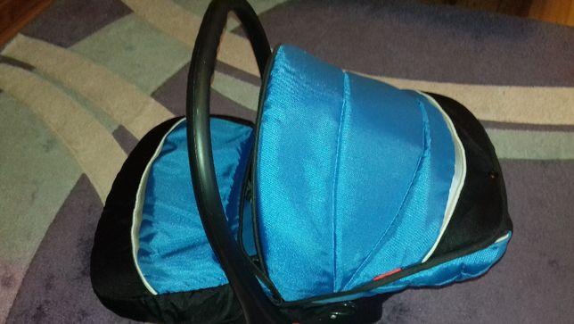 FOTELIK nosidełko 4Baby COLBY 0-13kg, niebiesko-czarny