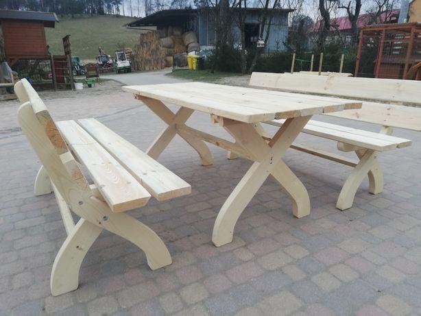 Meble ogrodowe szwardzwald  stół i ławki.