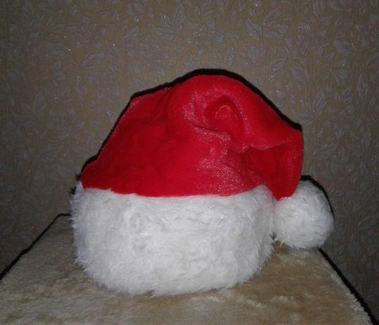 Качественная шапка деда Мороза Санта