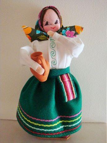 Antiga boneca de S Miguel - Açores - Helena Le Velly