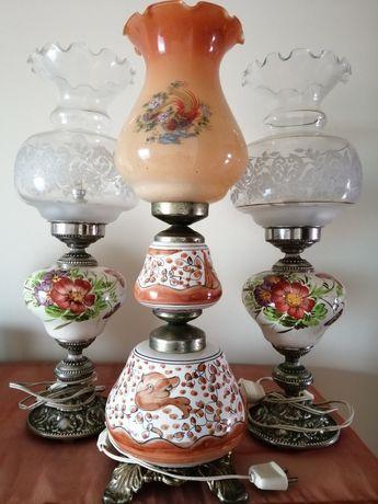 Candeeiros de porcelana
