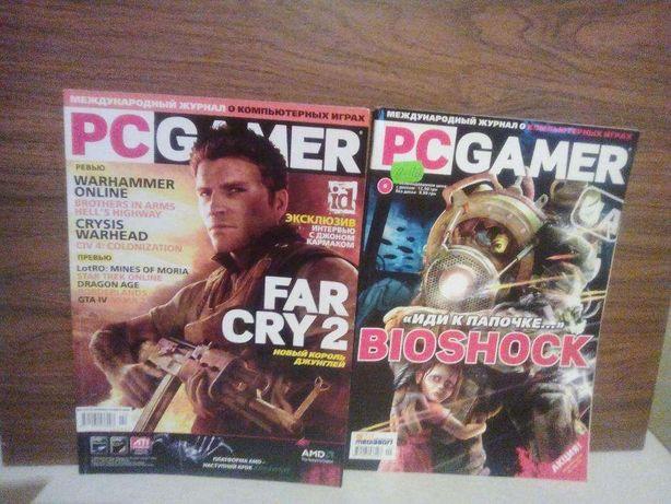 Продам журнал PC GAMER +диск.