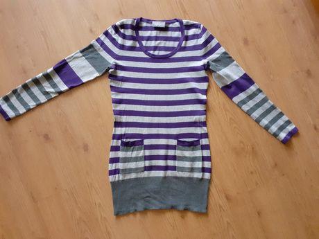 Dłuższy sweterek tunika