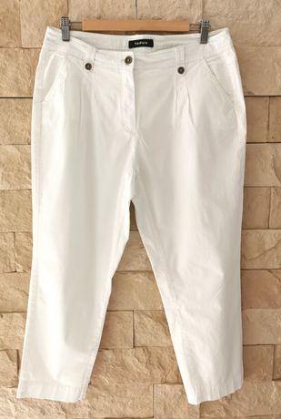 Taifun r. 42 białe spodnie damskie chinos