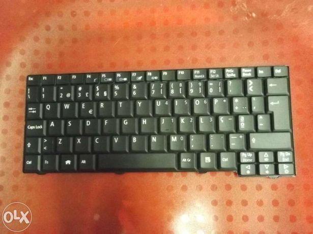 Teclado portatil acer one zg5/d150/a150/a110/751h/d250- Preto