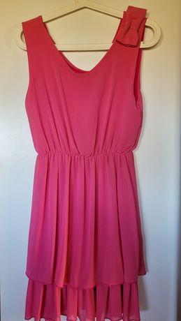 Różowa sukienka rozmiar S