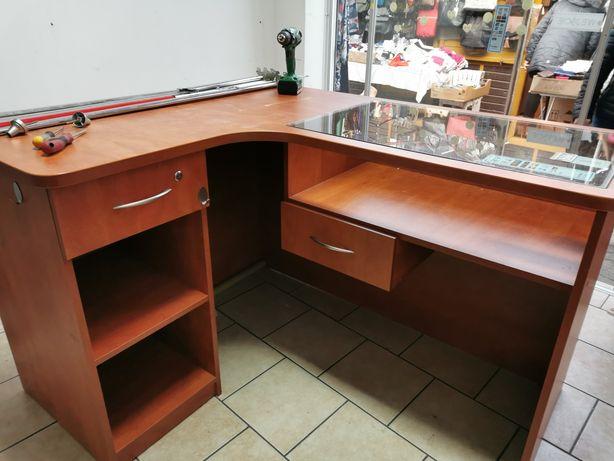 Biurko narożne do sklepu lub biura