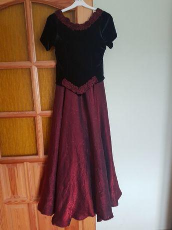 Suknia wieczorowa na studniówkę, bal, sylwestra...