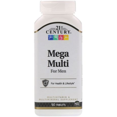 21st Century Mega Multi, для мужчин, витамины США iherb