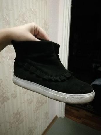 Отдам даром ботинки