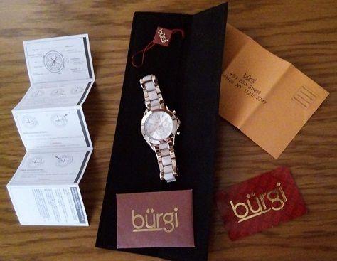 Elegancki zegarek BURGI BUR094RG
