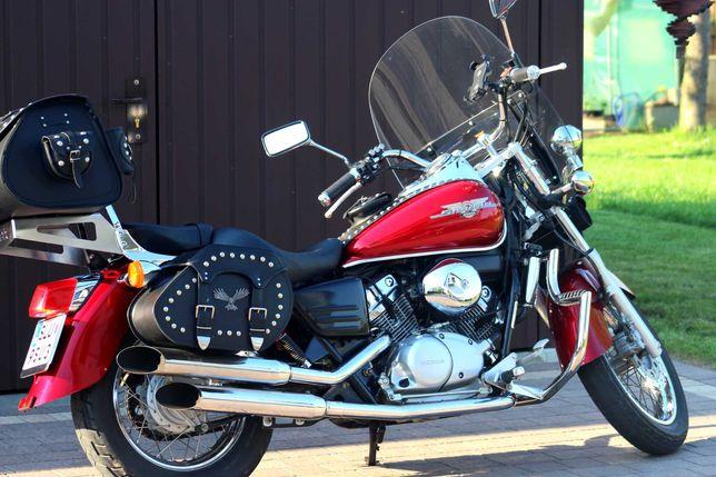 Honda VT 125cc SHADOW Lightbary Kufer Sakwy CUSTOM! PRZEBIEG 16 TYS km