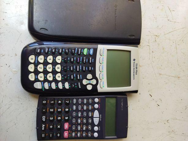 Calculadoras científica e grafica