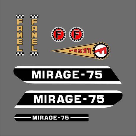 Kit Autocolantes Famel Mirage 75