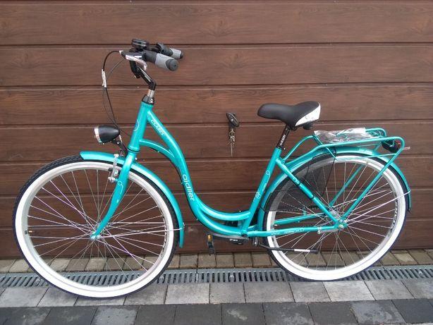 Rower damski miejski NOWY 3 biegi Shimano Nexus