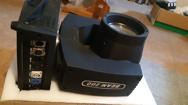 Flash beam 200 r5 200w, 18 dmx, ver 1, Nowa, made in china.