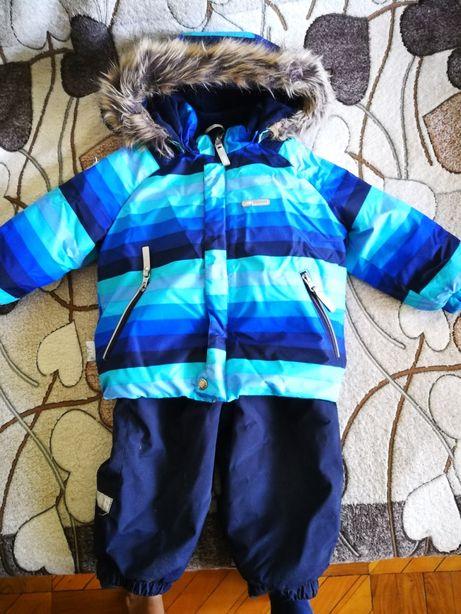 Костюм lenne 80 зимний (Ленне) раздельный комбинезон для мальчика