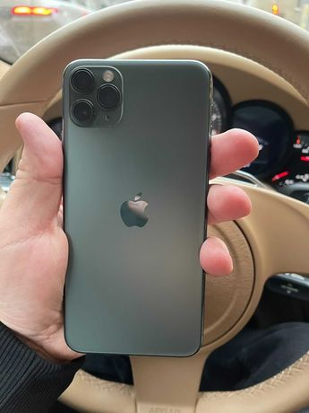 iPhone 11 Pro Max 256GB Midnight Green полный комплект