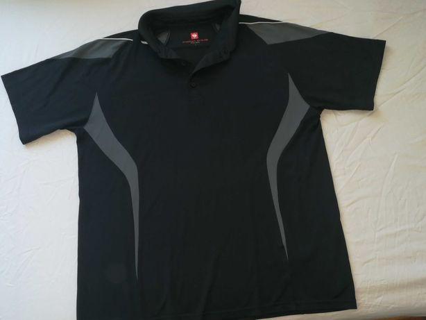 Koszulka męska L czarna Strauss Engelbert robocza