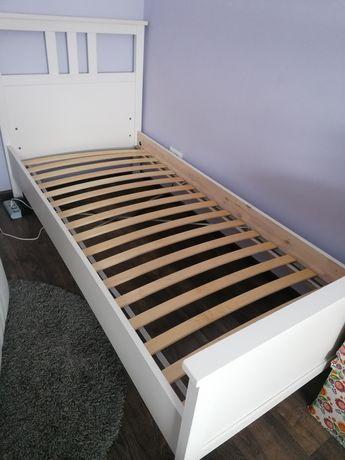 Łóżko hemnes białe z Ikea 90/200