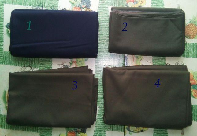 Обрез ткани (костюмная), четыре куска. Возм. обмен