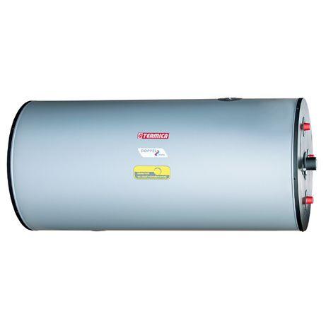 Bojler TERMICA 100 litrów - dwupłaszczowy - stal nierdzewna - poziomy