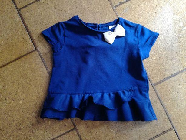 bluzeczka/ koszulka na krótki rękaw ZARA 86 cm