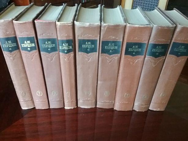 Герцен собрание сочинений в 9 томах