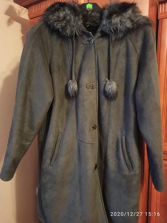 Sprzedam płaszcz, futerko