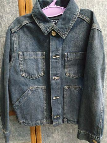 Пиджак для мальчика джинсовый