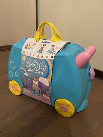 Дитячий чемодан Trunki unicorn