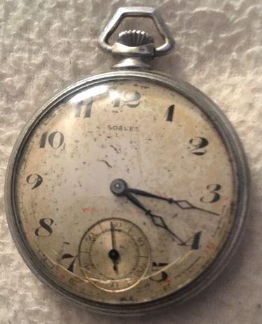 Relógio de bolso ,swiss made ,único ,raridade