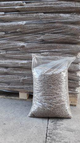 Pellet drzewny sosnowy 6mm big bag,worek 15kg
