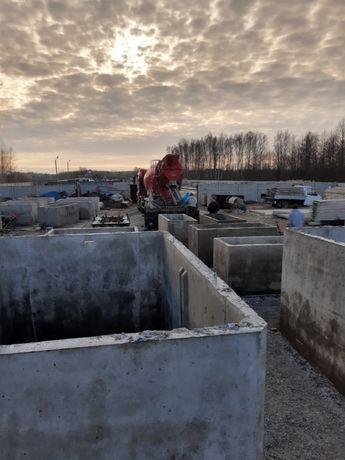 szamba, szambo, zbiorniki betonowe 5m3 wysoka jakość wodoszczelne