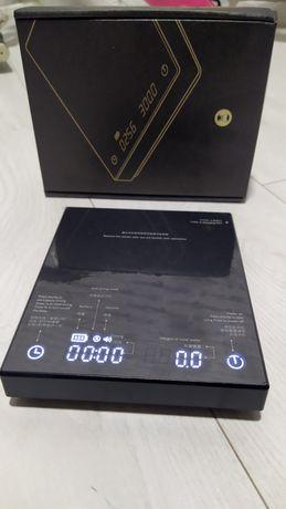 Весы Timemore B22 водонепроницаемые смарт для бариста кофейни подарок