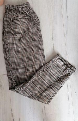Spodnie nowe M Sinsay w kratę