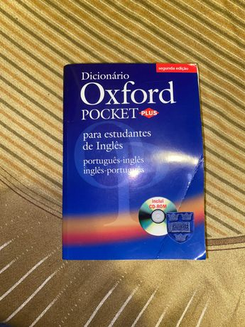 Dicionário Oxford Pocket Plus + CD