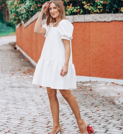 Vestido Ananis Branco (Novo com etiqueta)