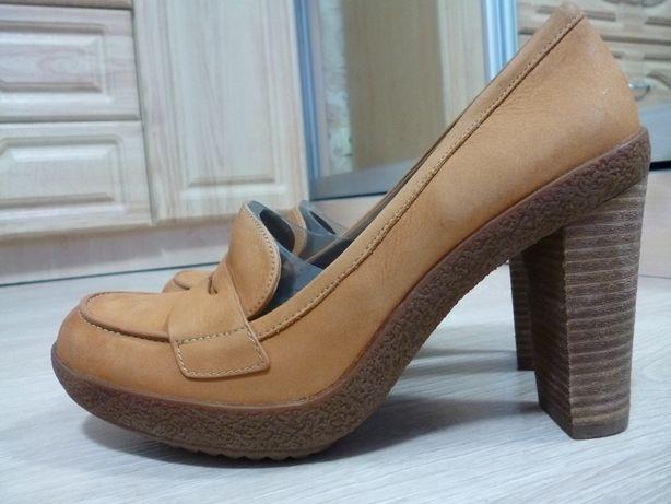Туфли Ecco кожа р. 41 ст. 27 см.