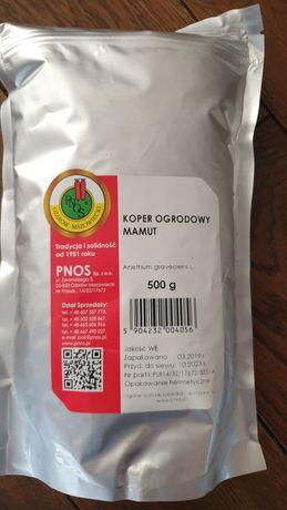 Nasiona kopru  Mamut w paczce 500 g x 3 szt.