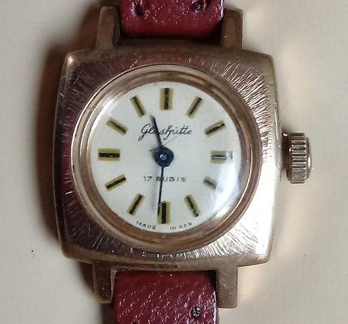 Glashutte zegarek damski mechaniczny lata 50 GDR