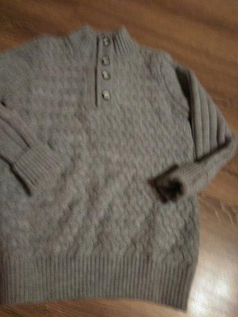 Swetr+koszula chłopięca