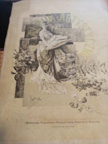 Katalog artystyczny z 1887