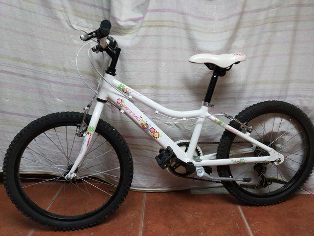 Bicicleta criança Quadro Alumínio 6V Roda 20''