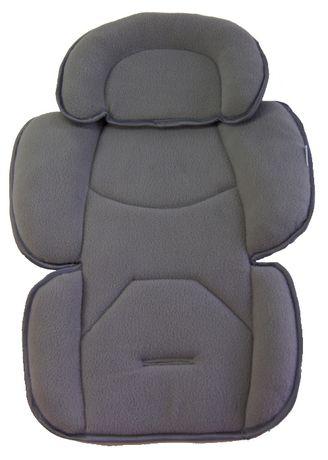 wkładka stabilizująca do fotelika wypełniająca, prosta pozycja ciała