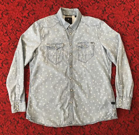 Рубашка G-Star RAW Tacoma Straight Shirt WMN р-р XL 46-48
