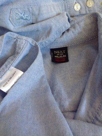 Школьная рубашка NEXT 10 лет( 140 см)