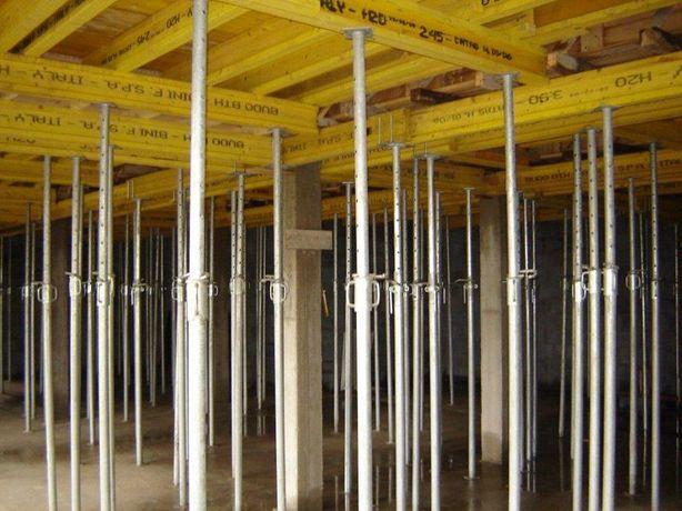 szalunki stropowe wynajem szalunków podpory sklejka od 60gr/m2 doba